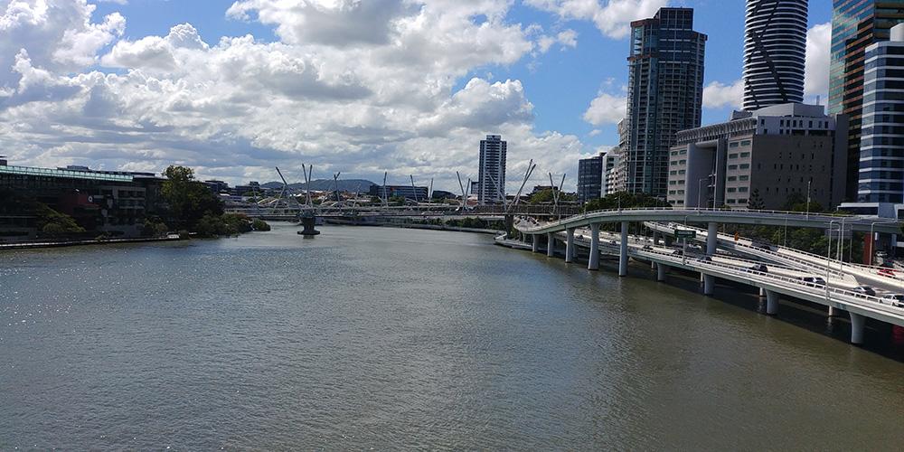 Viajando em Brisbane Austrália