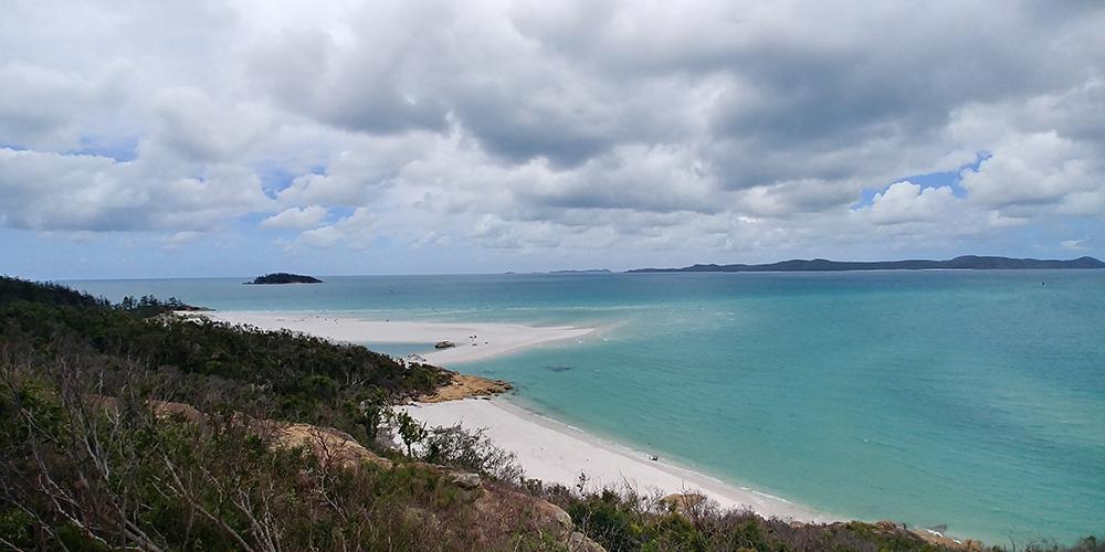 Viajando em Whitsundays Austrália