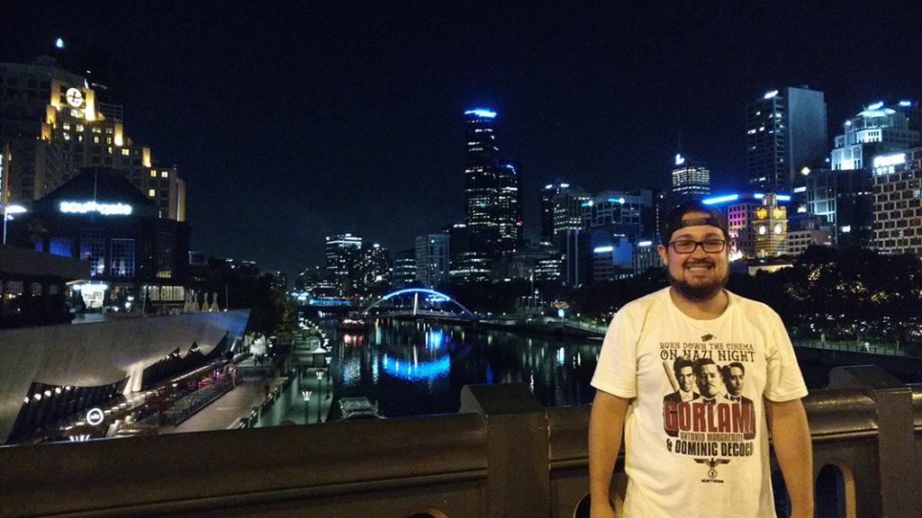 Viajando em Melbourne Austrália
