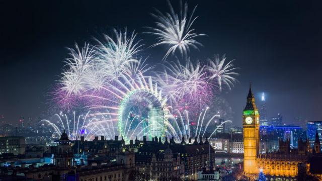 Londres no ano novo