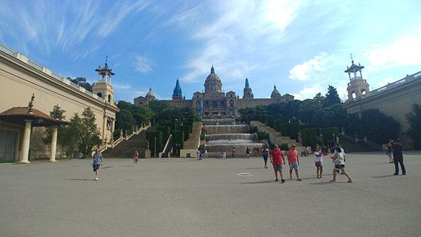 Barcelona, viajando pela Europa