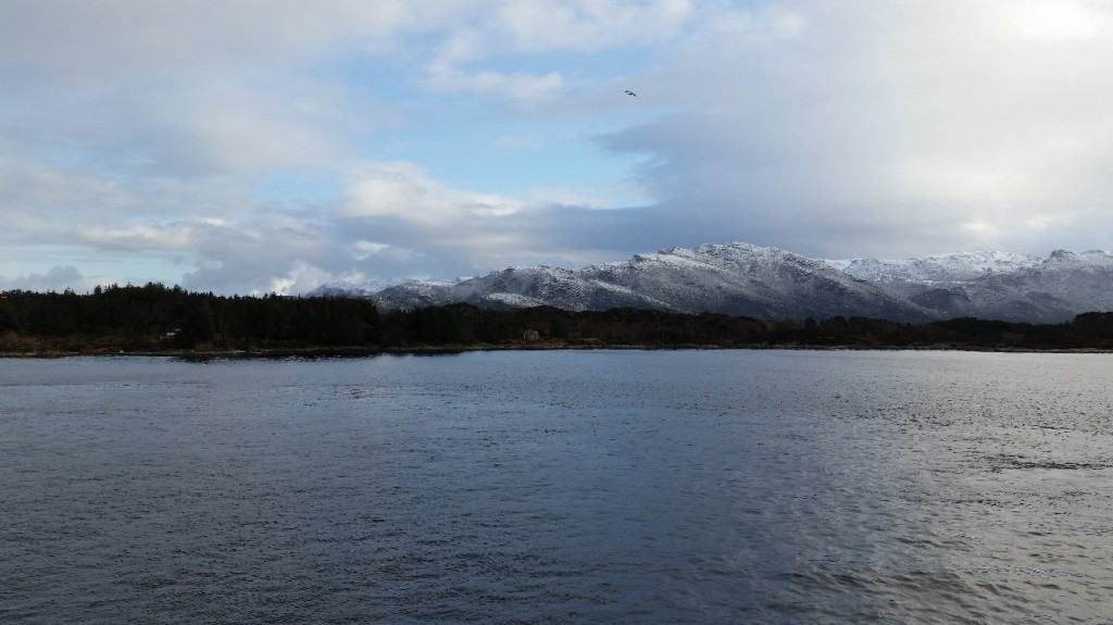 Exemplo da vista que você pode ter se fizer um passeio de barco pela costa. Abr/15.