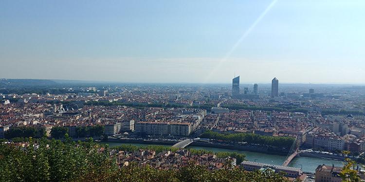 Lyon na França, viajando pela Europa