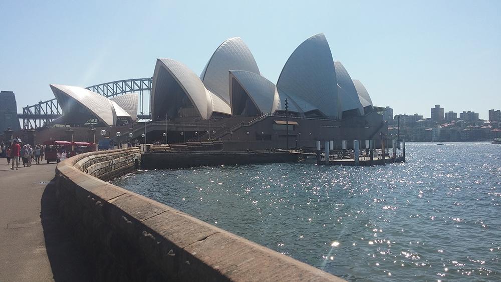 Viajando em Sydney - Austrália
