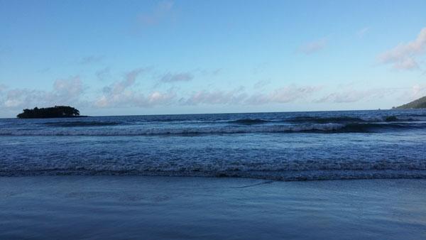 Mar de Balneário Camboriú