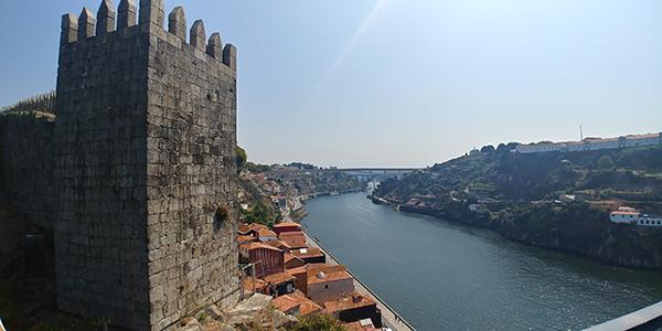 Porto em Portugal, viajando pela Europa