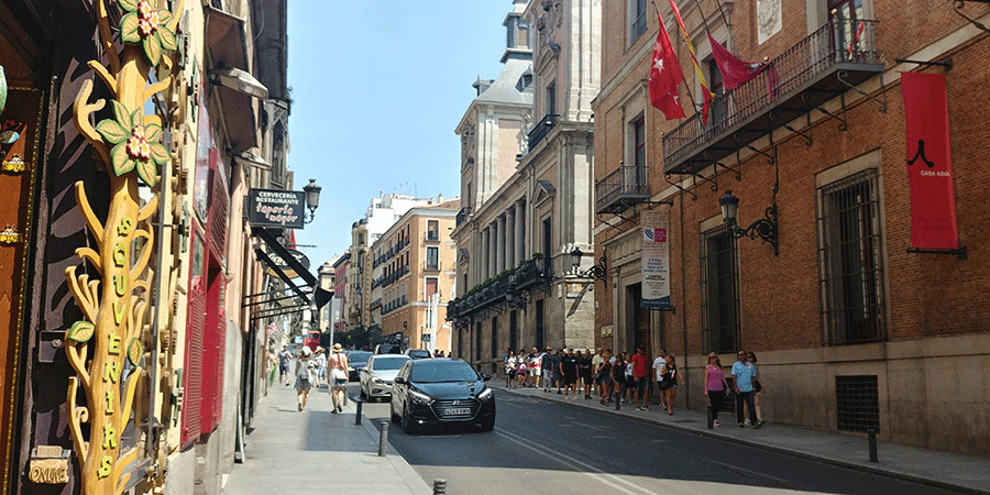 Ruas de Madrid