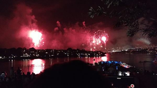 Sydney fogos de artifícios